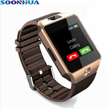 SOONHUA DZ09 Bluetooth Smart Watch Camera Sleeping Monitor Android Phone Call Watch SIM TF Card For iPhone Samsung Smartwatch