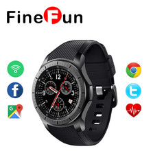 LF16 Android 5.1 OS Smart Watch MTK6580 512+8GB Smartwatch Pedometer Heart rate Bluetooth WiFi 3G for IOS Adnroid Free Shipping