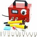 Аппарат для сжигания древесины  220 В 100 Вт  пирографическая ручка  набор инструментов для работы по дереву  Электрический паяльник для LH50-ZP-2