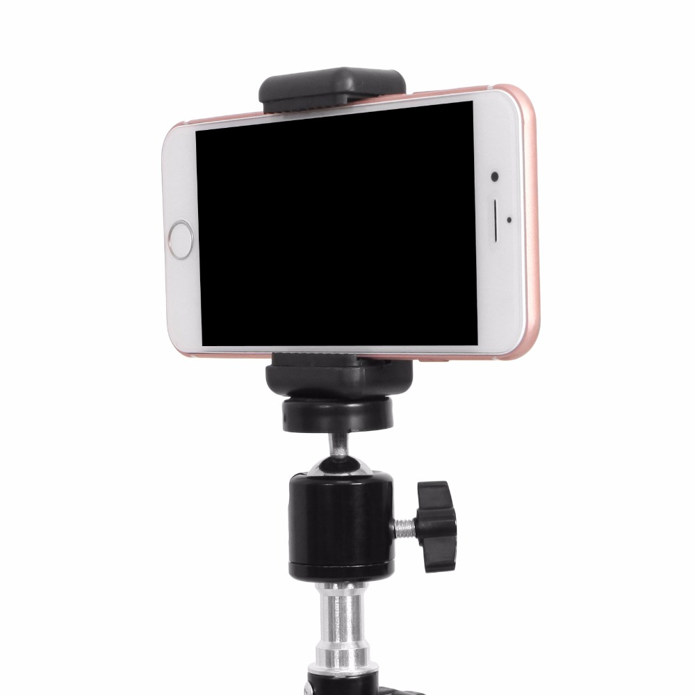 Universal Smartphone Holder Clip Mount Bracket Stands Selfie Stick For Tripod E-type Extendable Holder (5)