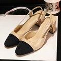 Sexy Shoes Women Square Toe Party Shoes 2017 Fashion Square Heel Platform Pumps Casual Shoes For Women