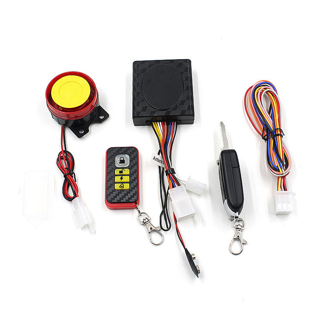 Top Quality Bike Motorcycle Security Alarm System Immobiliser Remote Control Engine New Aug.4