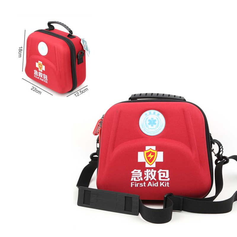Профессиональные eva водостойкая Премиум нейлоновая сумка первой помощи аварийный комплект с плечевым ремнем сепаратор для походов путешествия домашний Автомобиль