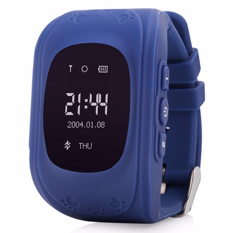 Q50 Smart Safe Kid Watch Wristwatch SOS Call Location Safty GSM GPRS Locator Tracker Anti Lost Kids LBS Watch for iOS Android