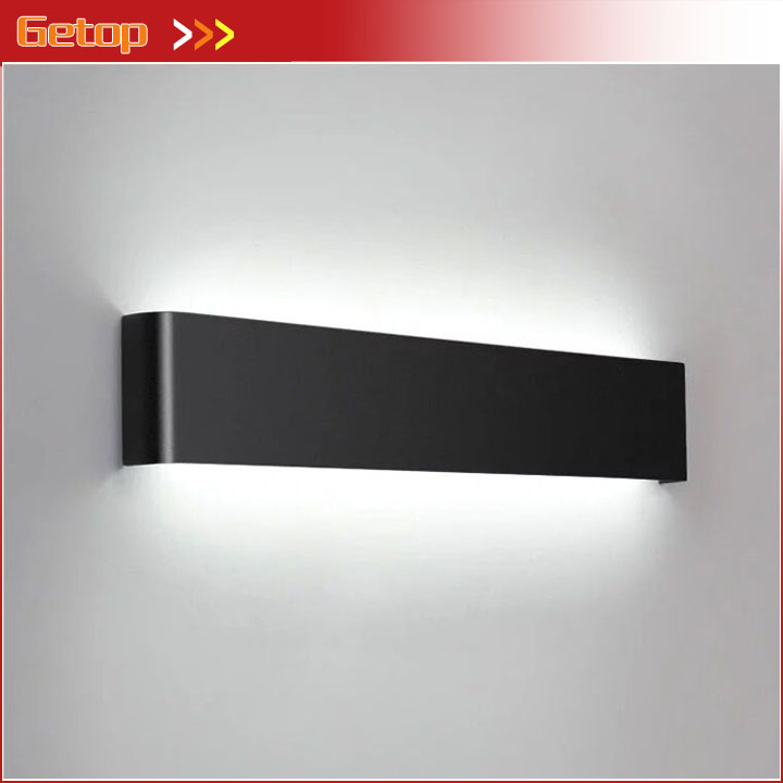 Modern Minimalist LED Aluminum Wall Lamp Bedside Lamp Wall Light Bedroom Bathroom Mirror Light Aisle Corridor Home Lighting