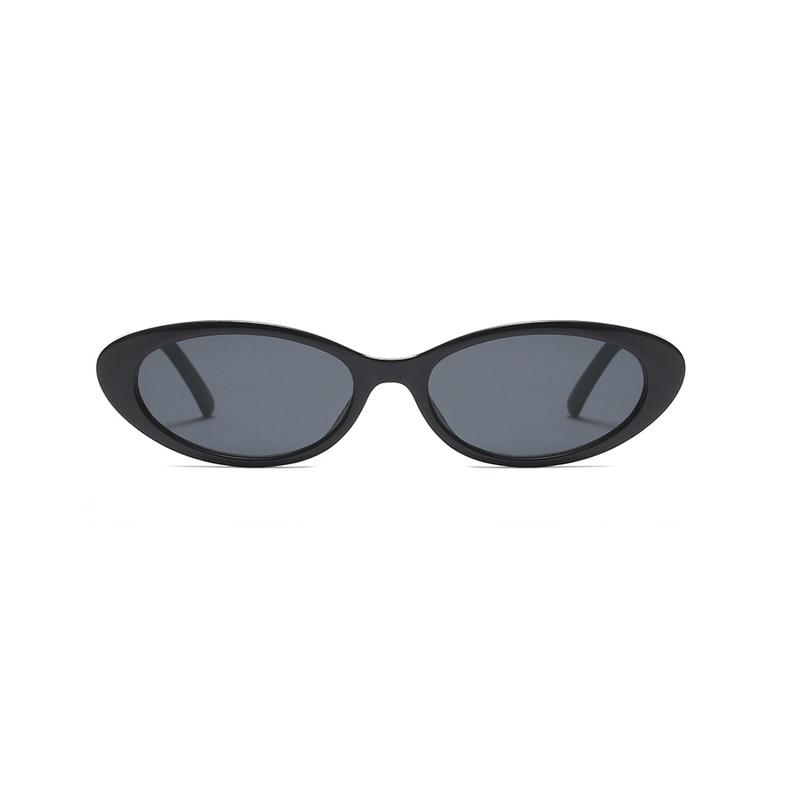 Cat Eye Oval Solglasögon för Women Vintage Design Frame Retro - Kläder tillbehör - Foto 4