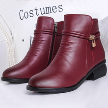 Superstar female snow boots women shoes 2017 new microfiber wedge boots short plush metal decoration ankle boots for women