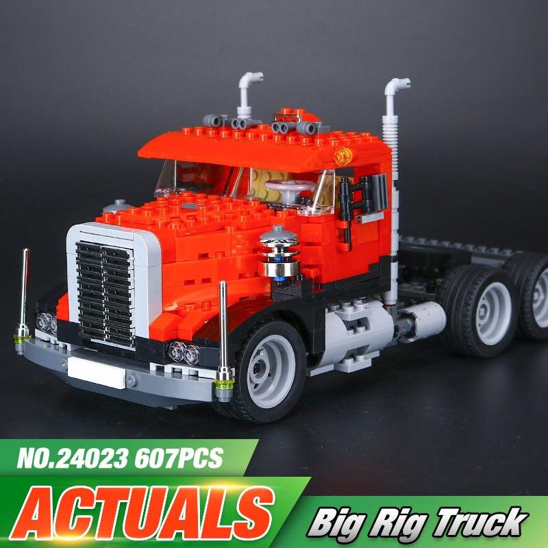 ФОТО Lepin 24023 Creative Changing Series The Three in One Truck Set Educational Building Blocks Bricks Toys Model Children Gift 4955