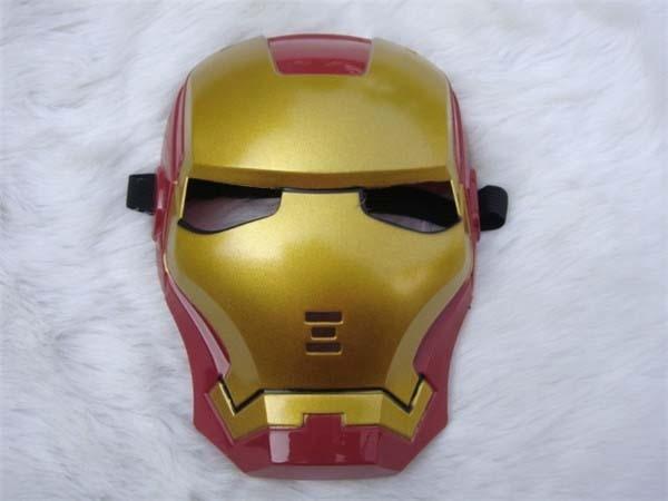 Iron Man Eye Face Mask Fancy Dress Masquerade Costume Halloween Party