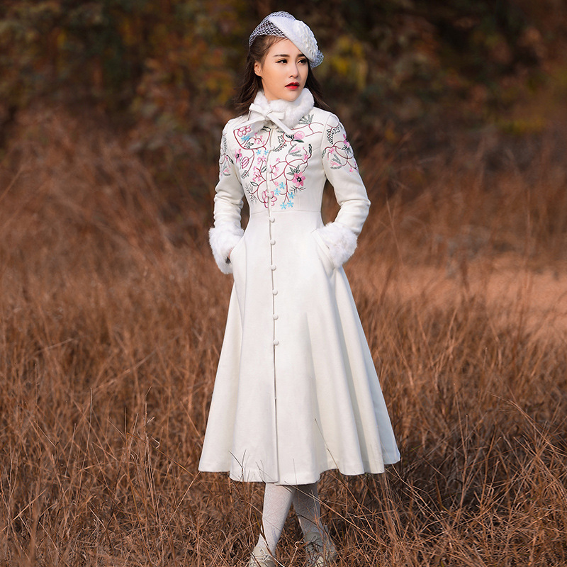 High Quality Brand Women 's Winter Coat Chinese Style ...