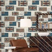 Beibehang обои для стен 3 d Обои Средиземноморский алфавит Английский Флаг 3D обои украшение стола ФОТО