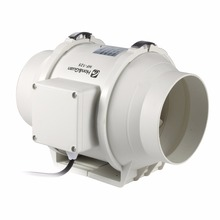 E-EMS Бесплатная доставка 5 дюймов 5 «honguan вентиляции Системы 125 мм встроенный вентилятор hf-125p 110 В/ 220 В смешанного потока inline протока вентилятор