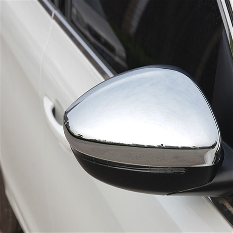 car accessories chromium parts Rear view mirror modified exterior mouldings rearview decorative FOR Peugeot 408