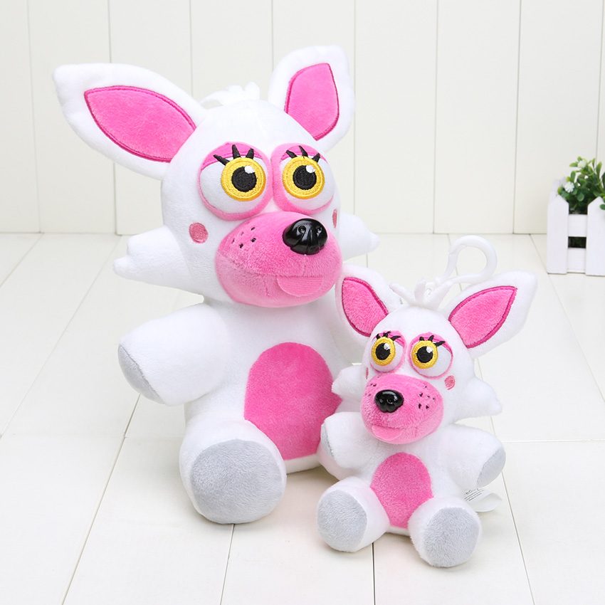 25cm fnaf five nights at freddy s mangle funtime foxy plush toys