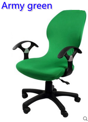 Sedie Da Ufficio Verde.Us 6 0 Esercito Colore Verde Lycra Computer Fodere Per Sedie Fit Per Sedia Da Ufficio Con Braccioli Spandex Fodere Per Sedie Decorazione