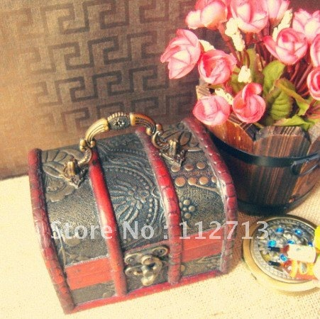 Min order $15 (mixed order) Fashion special box wooden box  from antique china free shipping