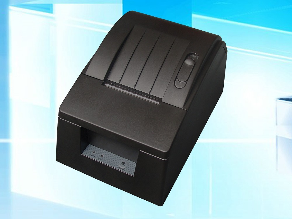 ФОТО 2pcs/lot DC 12V USB Mini 58mm POS/ESC Thermal Receipt Printer 384 Line with Roll Paper