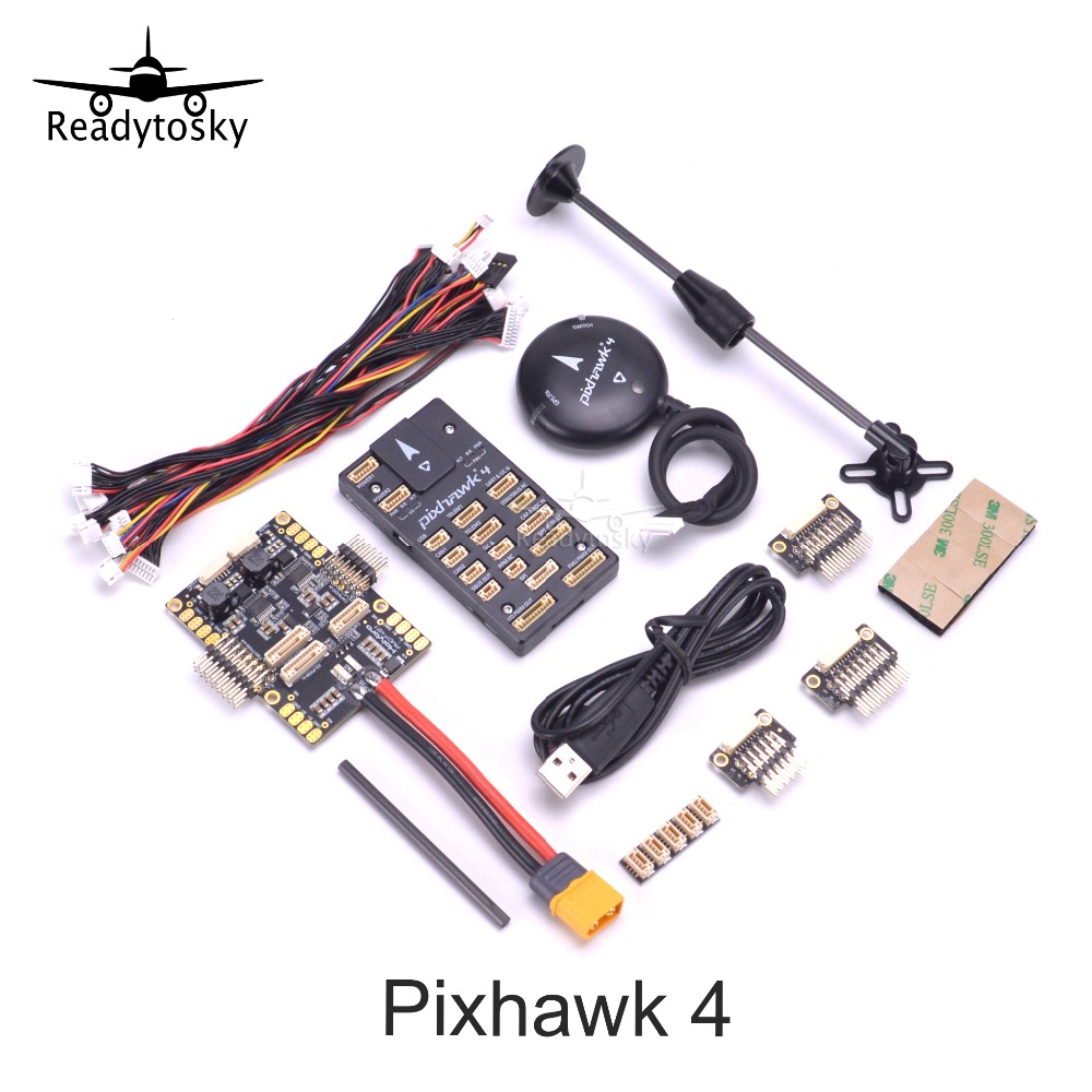 Holybro Pixhawk 4 Flight Control GPS MODULE M8N PM07 Power Management Board autopilot Combo kit For