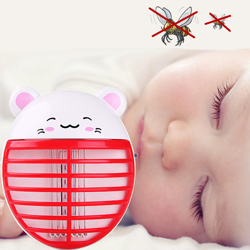 Reject Shop Outdoor Solar Lights: Cute LED Mosquito Killer Lamp Mini Portable Electric