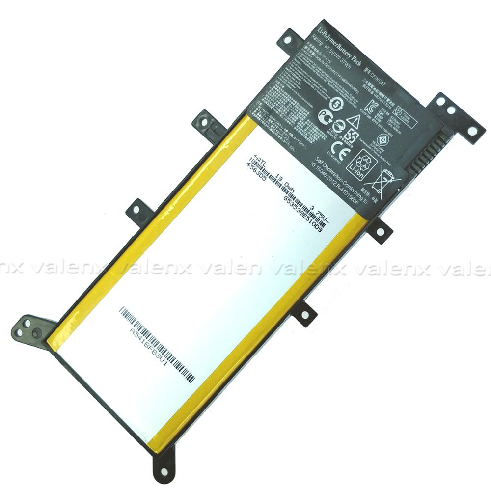 OEM 37Wh Laptop Battery C21N1347 For ASUS X554L X555 X555L X555LA X555LD X555LN X555MA F555LD