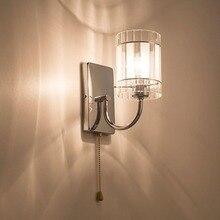HGhomeart Modern Sconce Wall Lights Bedside Lamp E27 Led Luminaria Indoor Lighting Mount Light