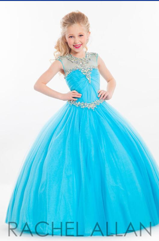 Popular Kids Pageant Gowns in Blue-Buy Cheap Kids Pageant Gowns in ...