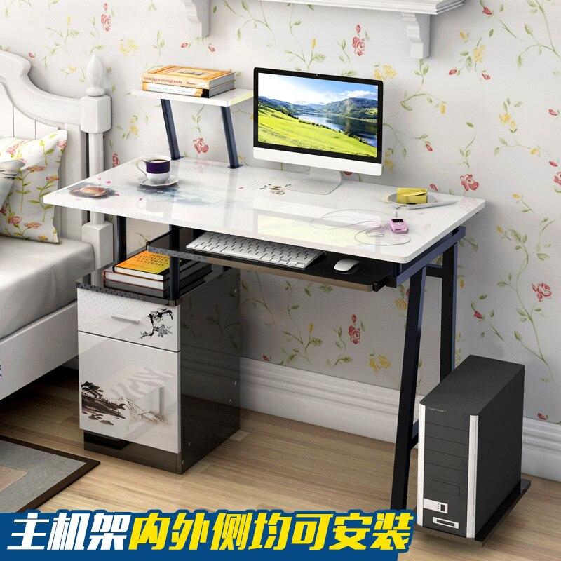 Moderne Stilvolle Computer Laptop Schreibtisch Mit Schublade