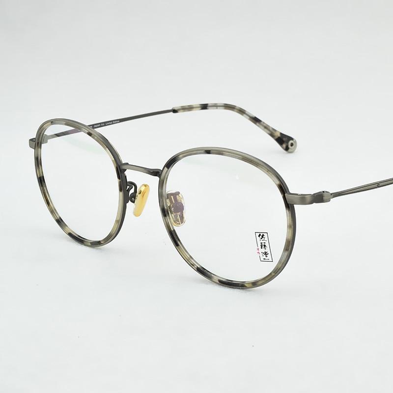 2018 NEW round glasses frame men women  designer limited edition retro Computer myopia Goggles Eyeglass frame oculos de grau
