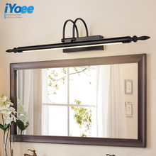 Modern Black Wall Lamp Bronze/Silvery Bedroom Led Lights Fixtures Living Room Sconce bathroom light for home