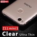 Zte nubia z11 mini s case tpu ultra fino claro nubia z11 minis capa protetora case 5.2 mofi para z11 mini s transparente