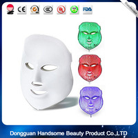LED Light Therapy Mask Red Blue Green 7 More For Anti Aging Wrinkles Skin Whitening