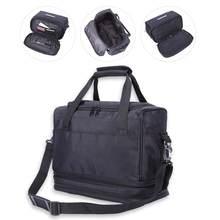 Grande multi-funcional ferramentas de cabeleireiro saco organizador cosmético portátil com acessórios bolsos estilo ferramentas caso de armazenamento