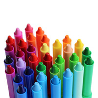 AMOS South Korea Imported Children S Rotary Plastic Crayons Non Toxic Washing Colorful Oil Painting