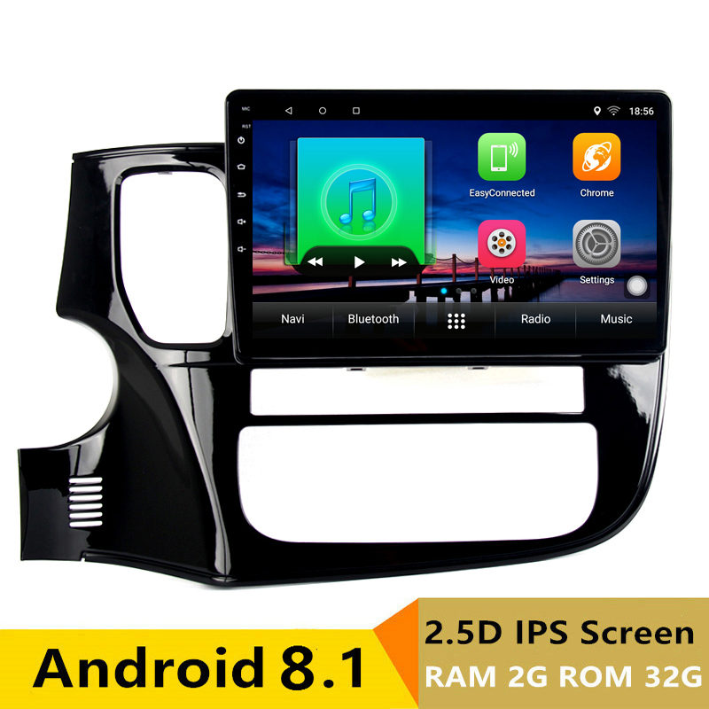 "10.1"" 2G RAM 32G ROM Android Car DVD Video player GPS For Mitsubishi Outlander 2014 2015 2016 audio car radio stereo navigation"