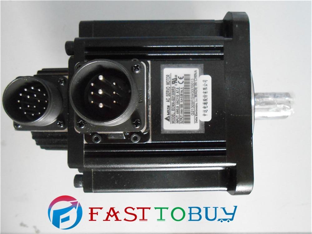 Delta AC Servo Motor 220V 900W 8.59NM 1000r/min 130mm ECMA-G21309RS Keyway delta ac servo motor ecma f11308ss 220v 850w 5 41nm 1500r min 130mm keyway brake