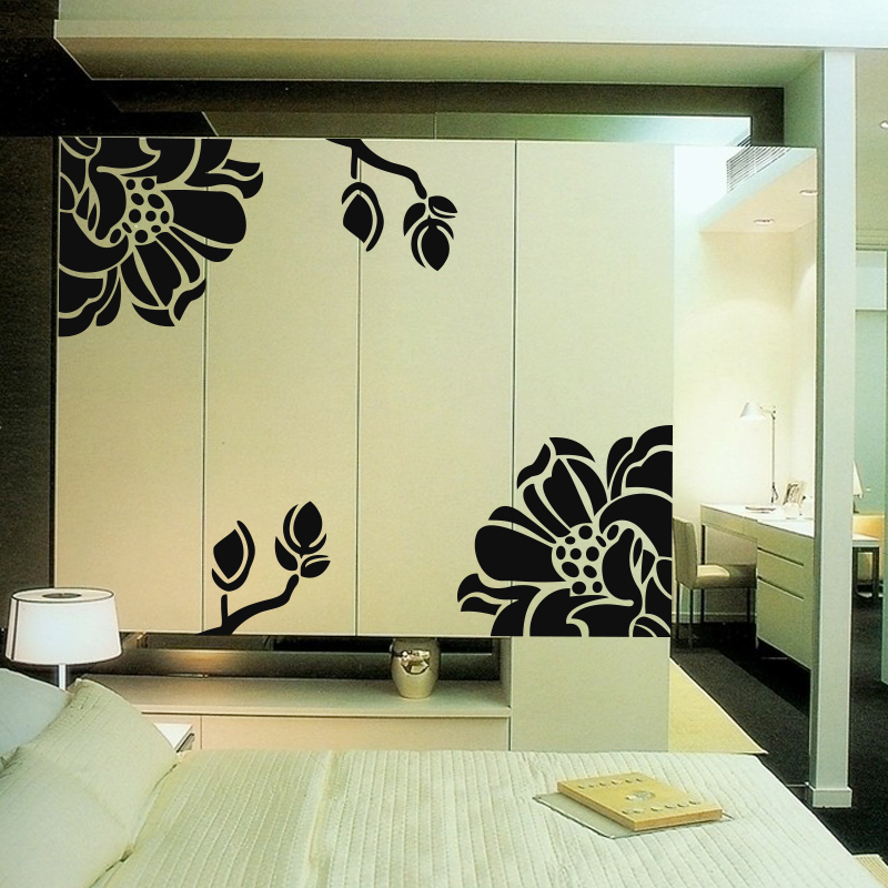 free shipping card kitchen cabinet door cabinet stickers wardrobe