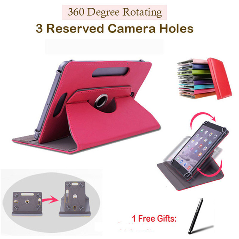Computer & Office Confident For Prestigio Multipad 4 Pmp7079d 3g/pmp7079d/diamond 7.85 360 Degree Rotating Universal Tablet Pu Leather Cover Case Free Pen