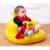 Kawaii Bonito Flutuador Grande Pato Amarelo Flutuadores Infláveis Brinquedos Piscina 50*23*12 CM Assento De Natação Animais Criança Brinquedo da água Do Bebê Para O Bebê