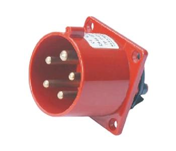 32A 380V 3P+N+E Industrial Plug 5pins IP44 Male Plug With CE 1 Year Warranty