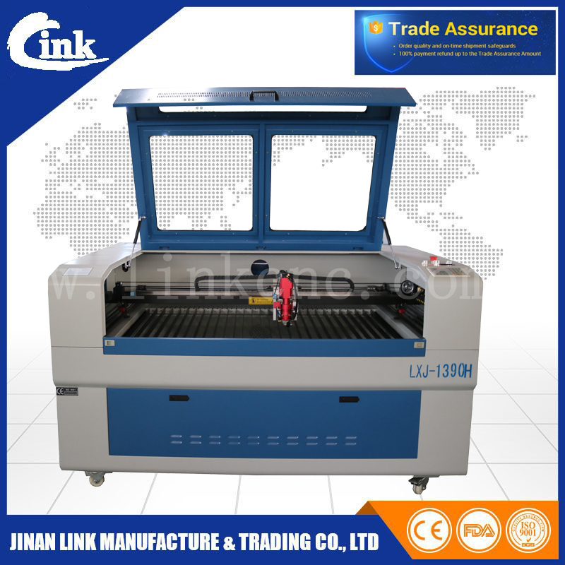 Paper crafts laser cutter machine lxj1390 h 150w wood die for Craft die cutting machine