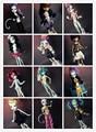 Новый 15 шт. = одежда + обувь для монстров высоких кукол, Много свободного покроя костюм оригинальный одежда кукольный монстр высота куклы 1/6