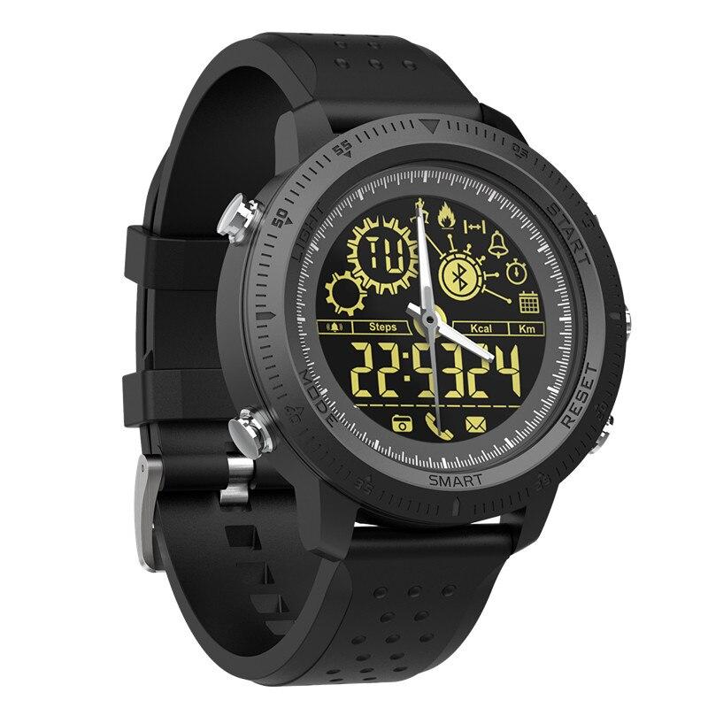 9c371f97a88f Mejor reloj inteligente mensaje recordatorio Passometer deporte al aire  libre IP68 5ATM Ultra-larga espera reloj natación deportes para ios Android