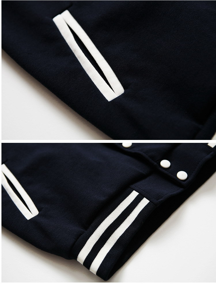 Fashion Mens Womens Unisex  Boy Baseball Fleec Cool Baseball Uniform Jacket New