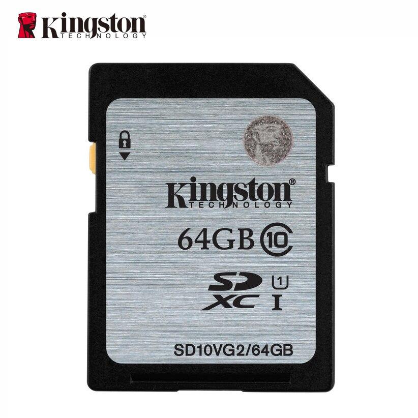 Kingston memory card 16gb 32gb 64gb 128gb sd hc xc SDHC SDXC uhs-i HD video class 10 cartao de memoria carte sd tarjeta