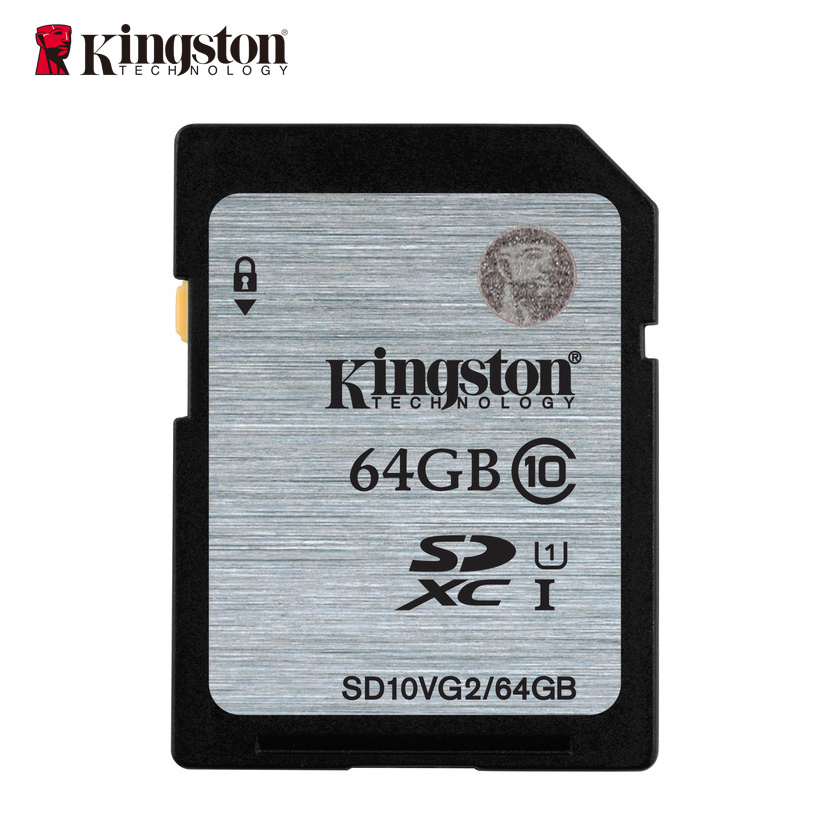 Kingston scheda di memoria 16 gb 32 gb 64 gb 128 gb sd hc xc SDHC SDXC uhs-i classe 10 carte cartao de memoria video HD sd tarjeta