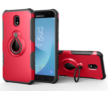 mobile cell phone holder magnetic hybrid dual layer Raindrop case FOR SAMSUNG Galaxy j7 prime