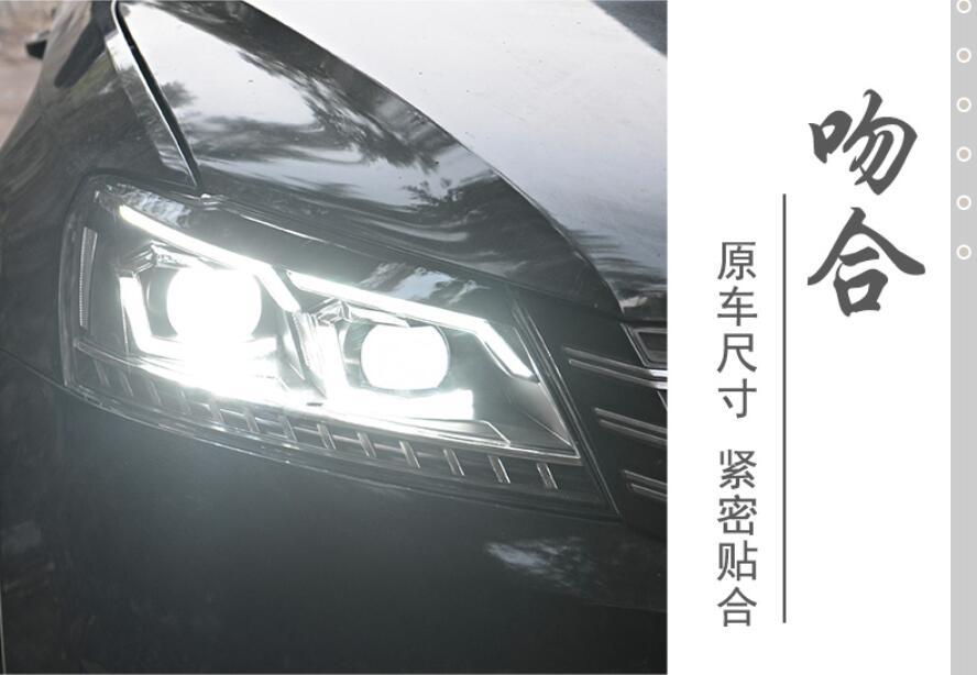 2pcs car styling for B7 Passat headlight,2012 2013 2014 205,bumper lamp for Passat fog light,car accessories,Passat b7,magotanpassat fog lightfog lightpassat headlights -