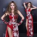 2016 Leopard print dj cantante femenina ds lead dancer costume sexy ropa ropa de la etapa cantante discoteca fiesta performance show