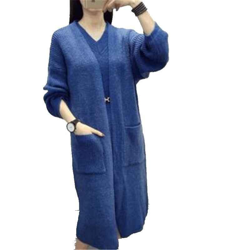 YAGENZ Herbst und winter kleidung Große größe Frauen kleidung Neue produkt Pullover 2 teilig frauen stricken weste + Pullover mantel 538