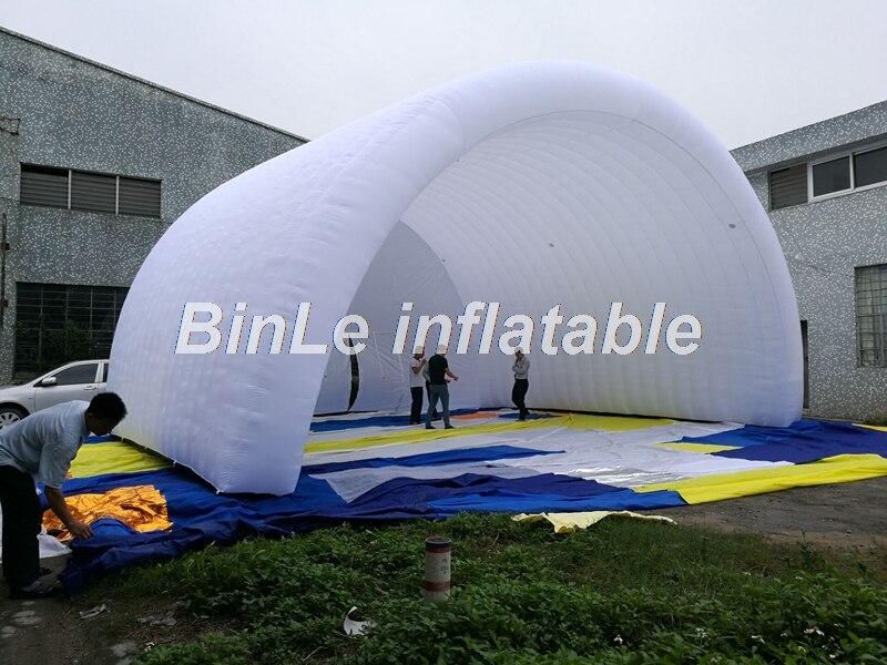 10x8x6m blanco impermeable oxford gigante cubierta de la etapa - Deportes y aire libre - foto 4